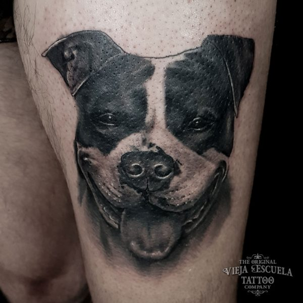 tattoo Valencia perro